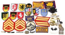 Lot 9140: MIXED LOT MILITARY & CIVILIAN INSIGNIA AND MORE