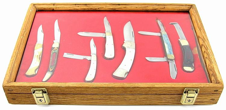 BEAR HUNTER SEVEN KNIFE CASED SET
