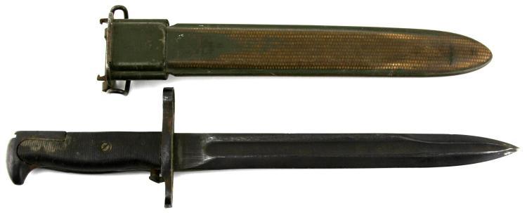 Lot 9161: WWII US M-1 GARAND BAYONET UFH