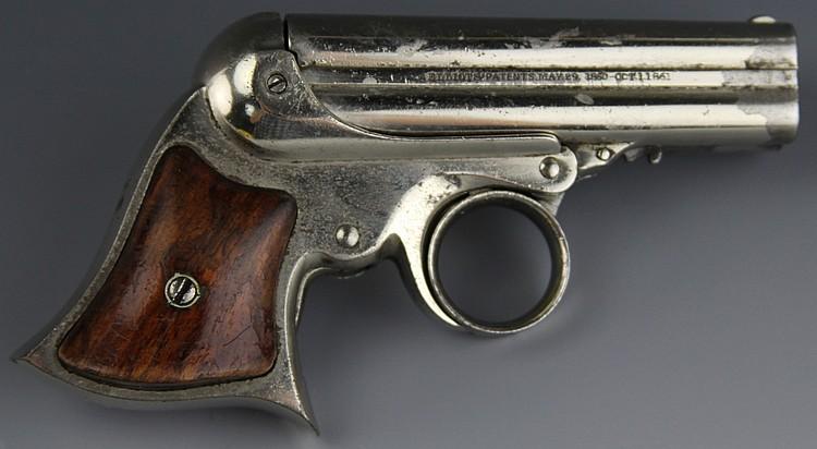 REMINGTON ELLIOT'S PATENT 4 SHOT PEPPERBOX