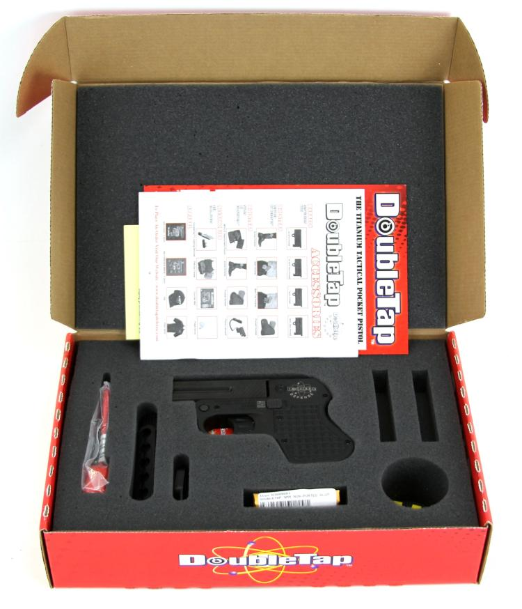 Lot 9176: DOUBLE TAP DEFENSE 9mm PISTOL NEW IN BOX