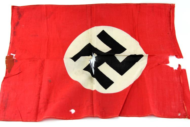 Lot 9085: WWII GERMAN BANNER LOT OF THREE