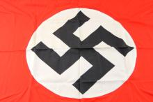 Lot 9086: WWII GERMAN DOUBLE SIDED RECOGNITION FLAG
