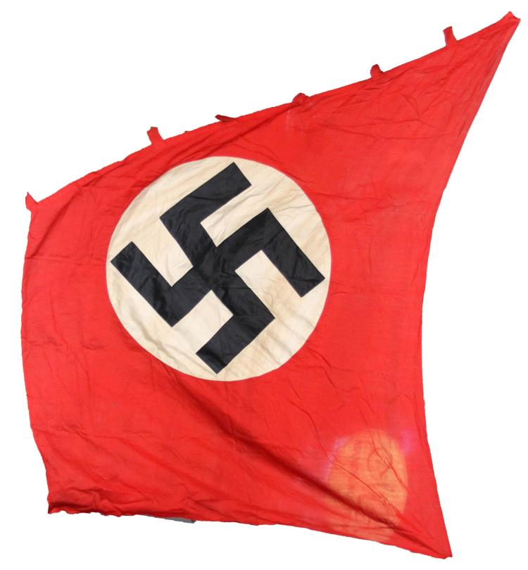 WWII GERMAN LINEN NSDAP BANNER