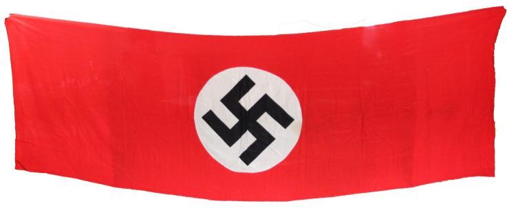 LARGE WWII GERMAN NSDAP BANNER
