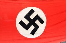 Lot 9090: WWII GERMAN NSDAP BANNER