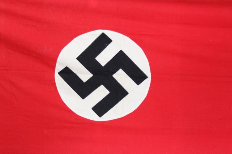 Lot 9091: WWII GERMAN DOUBLE NSDAP BANNER