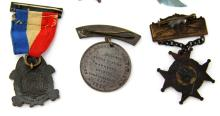 Lot 9001: CIVIL WAR REUNION PIN LOT OF SIX