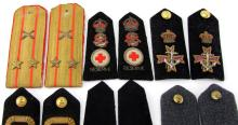Lot 9024C: MIXED EUROPEAN SHOULDER BOARD LOT