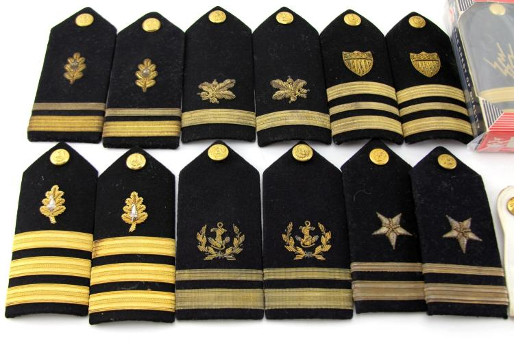 Lot 9024G: US SHOULDER BOARD COLLECTION