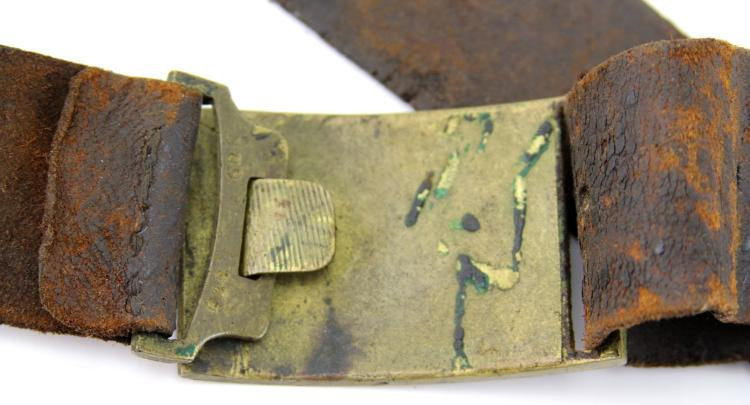 Lot 9026: US INDIAN WARS BELT LOT