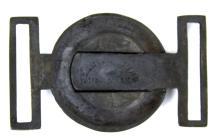 Lot 9053: CIVIL WAR REENACTOR'S LOT BELT BUCKLES BULLET MOLD