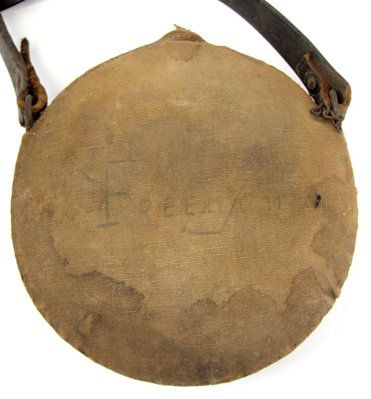 Lot 9057: NAMED US SPANISH AMERICAN WAR CANTEEN