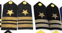 Lot 9097: US NAVY VINTAGE SHOULDER BOARD COLLECTION