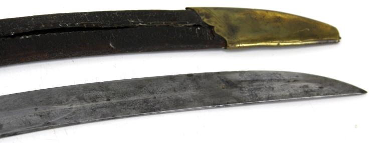 Lot 9145: EARLY 19TH CENTURY MILITIA CAVALRY SABER