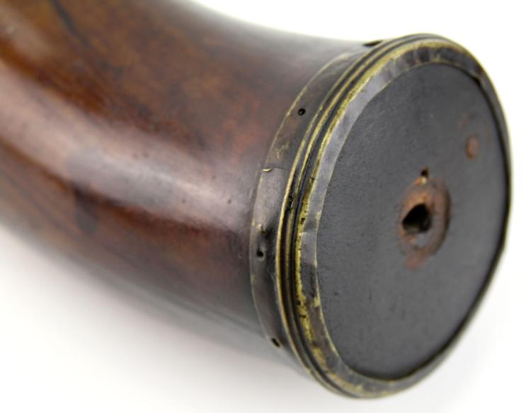 Lot 9162A: 19th CENTURY POWDER HORN LOT OF 4