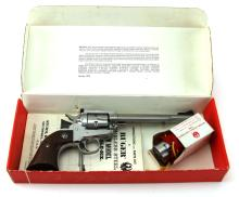 Lot 9168A: RUGER NEW MODEL SINGLE-SIX BOX WITH EXTRA CYLINDER