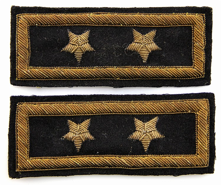 CIVIL WAR ERA US OFFICER SHOULDER BOARDS