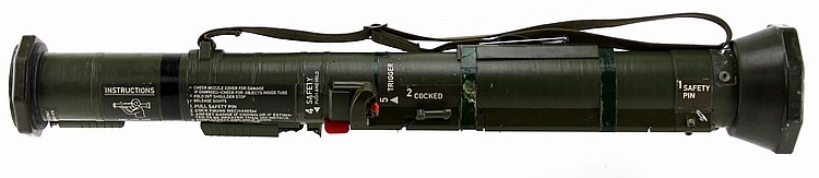 INERT US ROCKET LAUNCHER