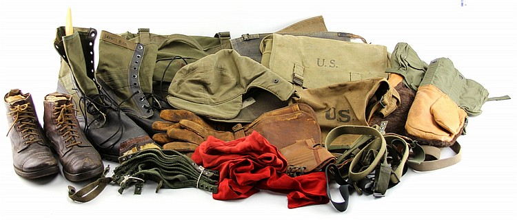 US MIXED MILITARY GEAR LOT