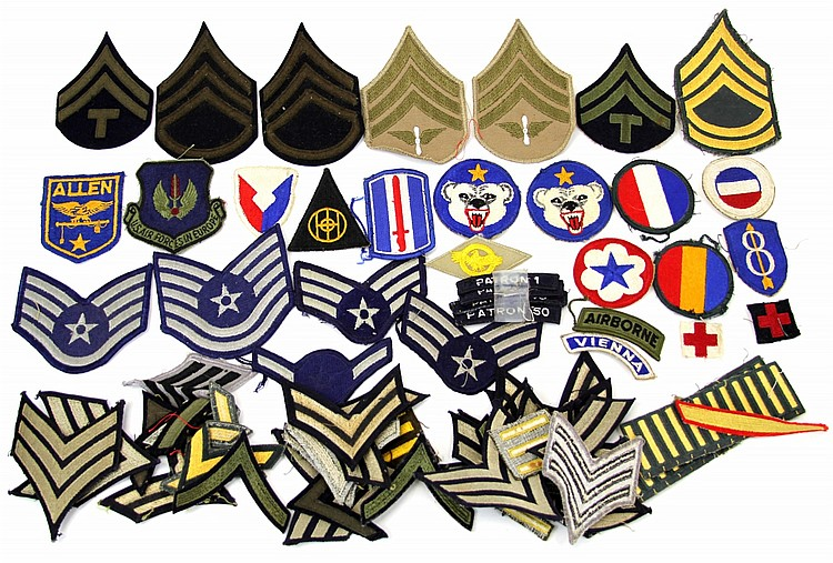 OVER 50 US PATCHES