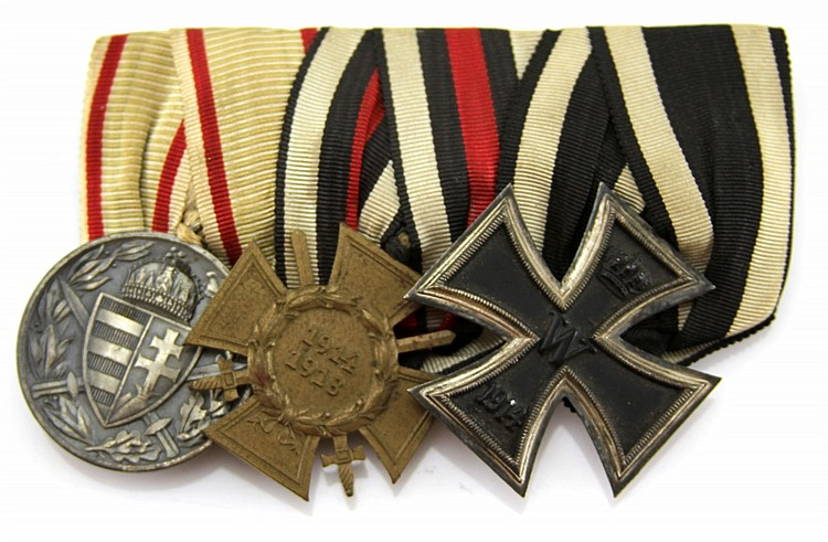 WWI GERMAN MEDAL BAR