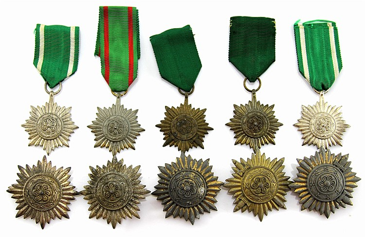 (10) WWII GERMAN EASTERN PEOPLES 2nd CLASS AWARDS