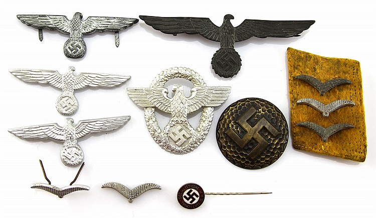WWII GERMAN PIN LOT