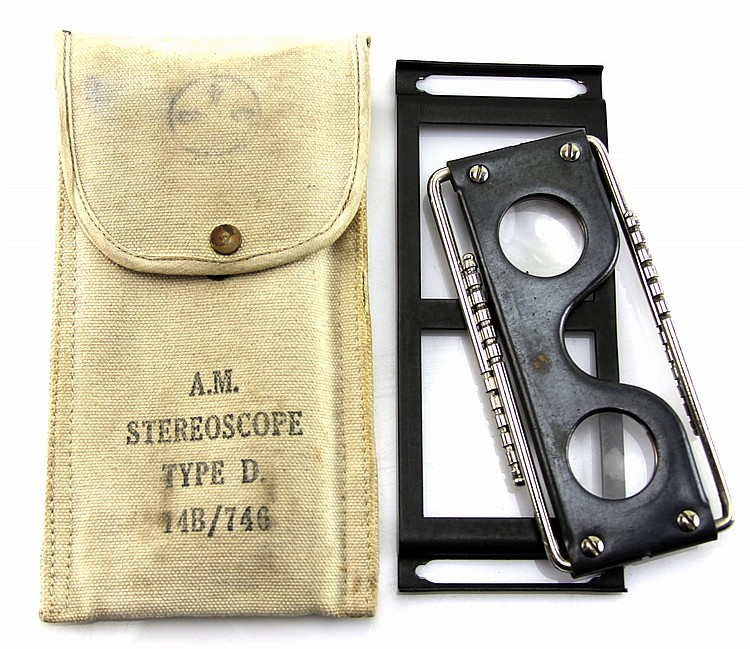 WWII RAF AM STEREOSCOPE TYPE D 14B / 746