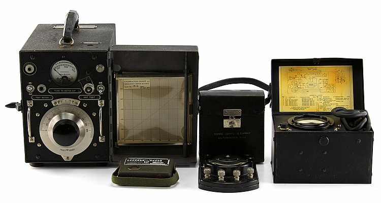 US ARMY SIGNAL CORPS LOT TEST EQUIPMENT