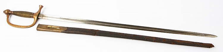 CIVIL WAR M1840 MUSICIAN PRESENTATION SWORD ROBY