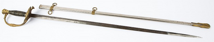 M1860 STAFF & FIELD OFFICER SWORD PASQUALE & SONS