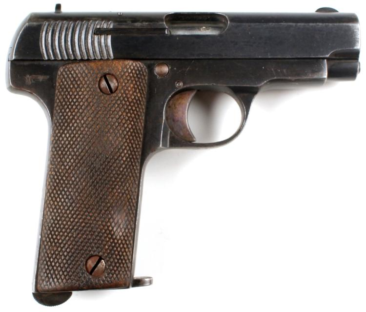ALDAZABAL RUBY PISTOL NAZI MARKED