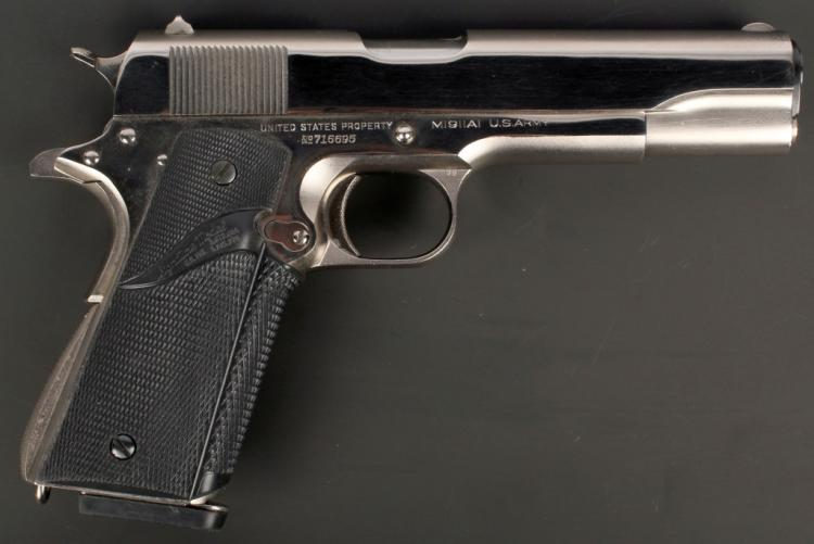 1939 US ARMY COLT 1911A1 MILITARY PISTOL