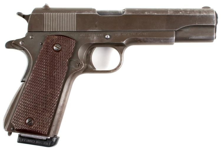 WWII US COLT 1911A1 OF GENERAL JOSEPH BUD HARPER