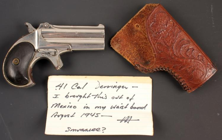 REMINGTON DERRINGER OF GENERAL JOSEPH H. HARPER
