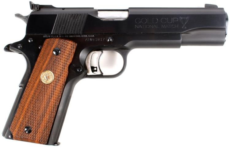 COLT GOLD CUP NATIONAL MATCH MARK IV SERIES '70