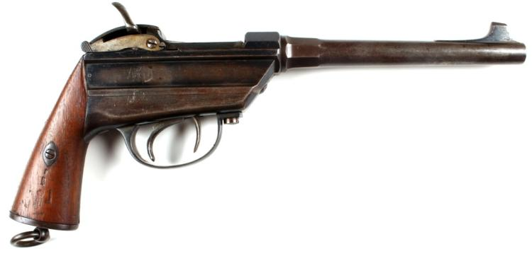 BAVARIAN WERDER M1869 SINGLE SHOT PISTOL