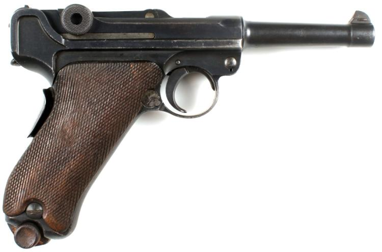SCARCE DUTCH CONTRACT VICKERS LTD 1906 LUGER