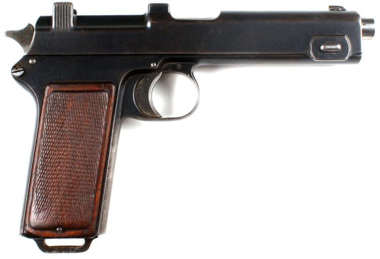 STEYR-HAHN MODEL 1912 PISTOL 1913