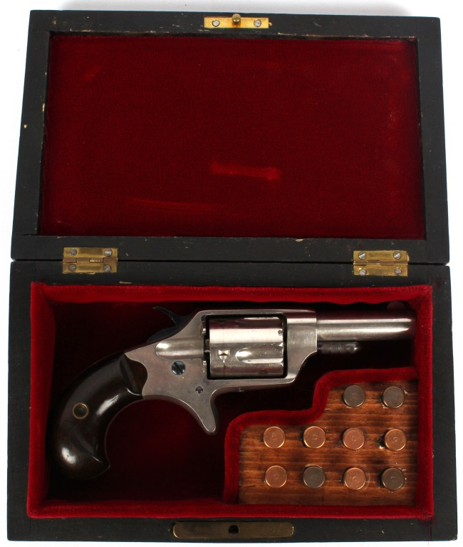 CASED COLT NEW LINE REVOLVER 32 CALIBER