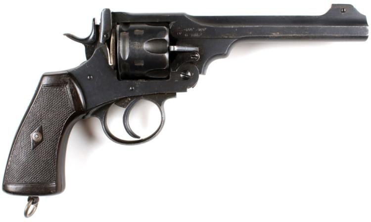 BRITISH WEBLEY MARK VI REVOLVER