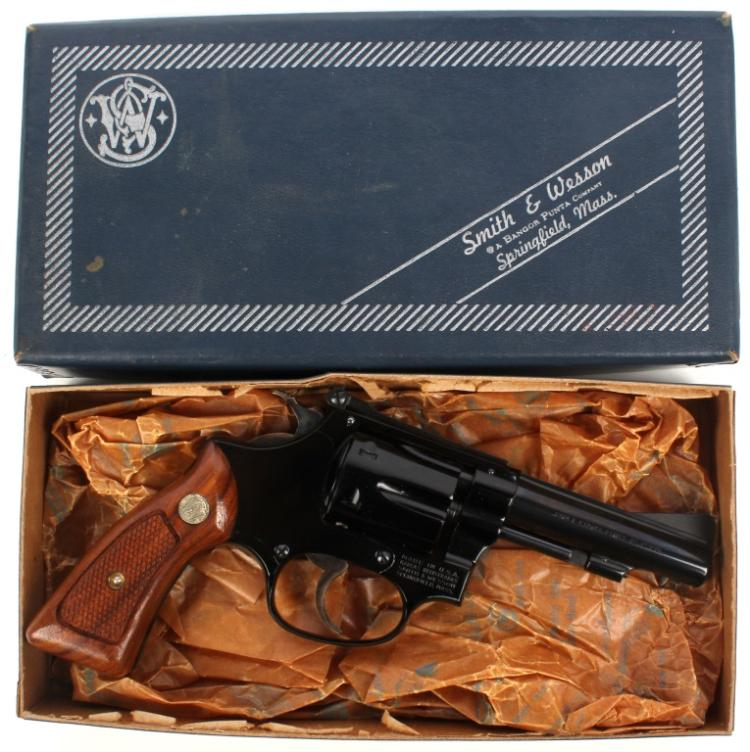 SMITH AND WESSON MODEL 43 REVOLVER 22 LR