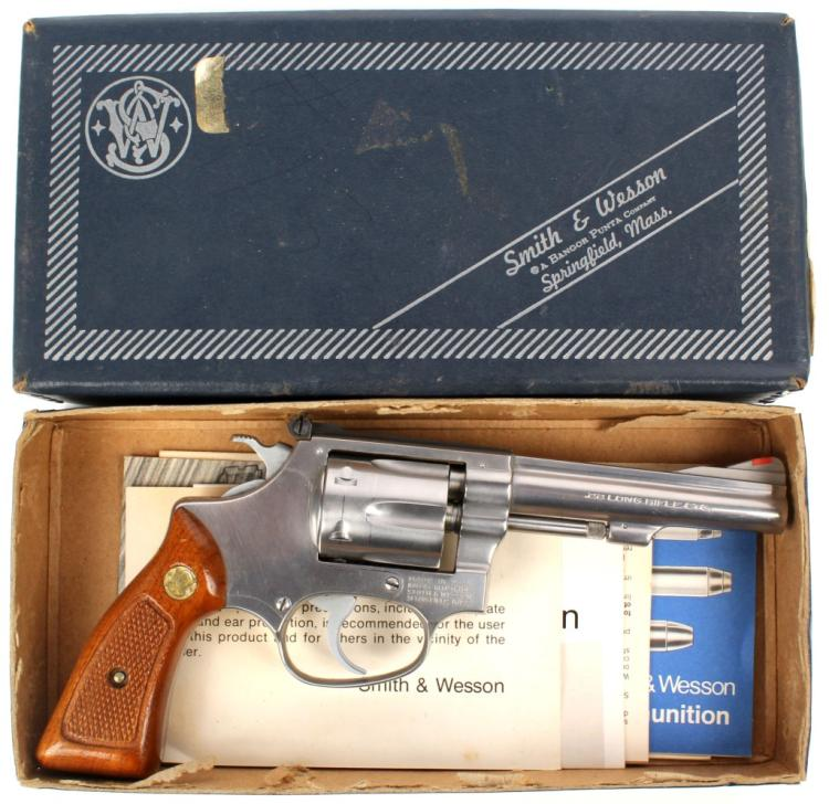SMITH AND WESSON MODEL 63 NO DASH REVOLVER 22 LR