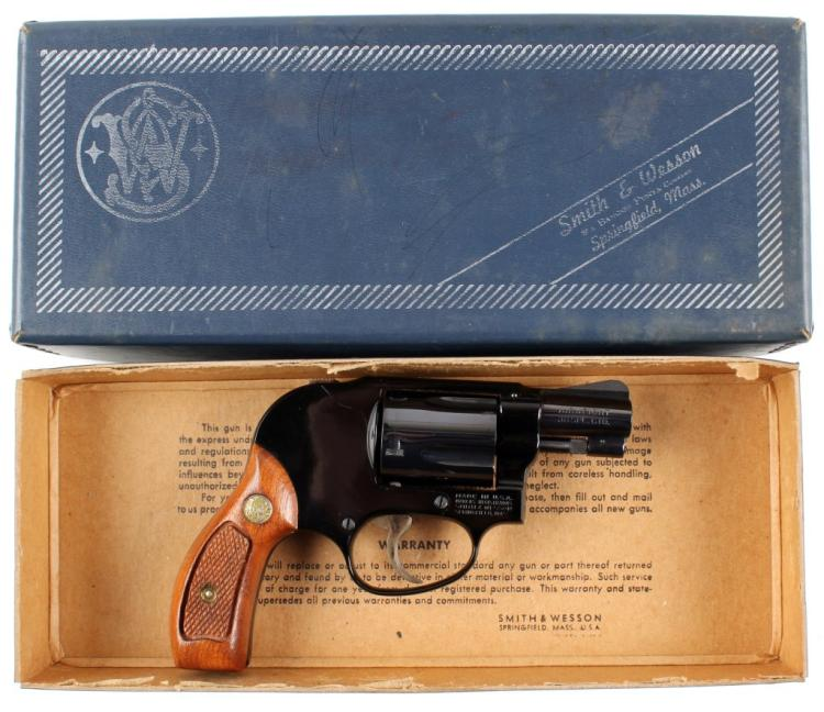 SMITH & WESSON MODEL 38 REVOLVER AIRWEIGHT 38 SPL