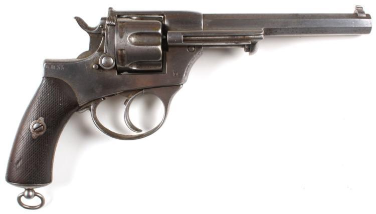 ITALIAN MODEL 1872 REVOLVER GLISENTI BRESCIA