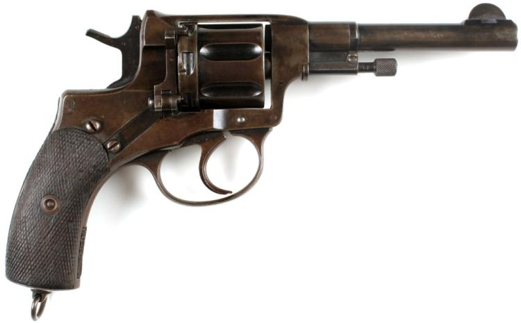 RUSSIAN M1895 NAGANT REVOLVER DATED 1904