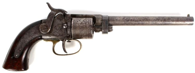 MASS ARMS CO MAYNARD PRIMED BELT REVOLVER 31 CAL