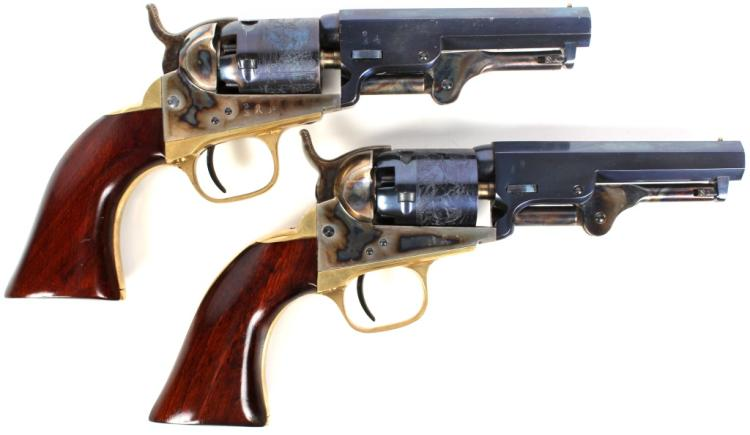 PAIR OF REPRODUCTION COLT 1849 POCKET PISTOLS