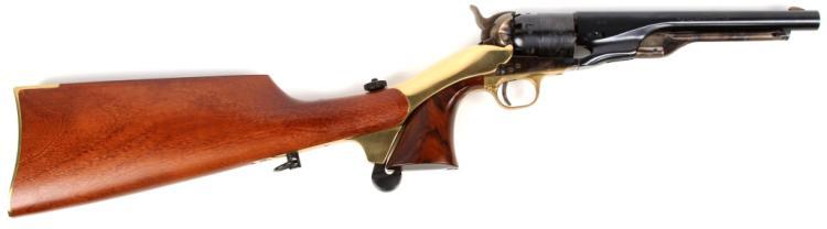 PIETTA COLT 1860 REVOLVER CARBINE
